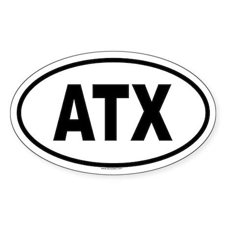 ATX Oval Sticker