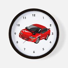 Car Sales Wall Clock