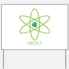React Yard Sign