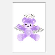 PURPLE ANGEL BEAR Postcards (Package of 8)