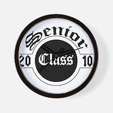 Senior Class 2010 Wall Clock