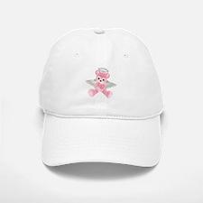 PINK ANGEL BEAR 2 Baseball Baseball Cap