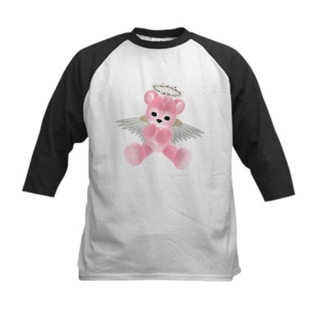 PINK ANGEL BEAR 2 Kids Baseball Jersey