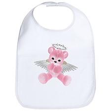 PINK ANGEL BEAR 2 Bib
