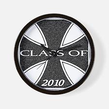 Class of 2010 Cross Wall Clock