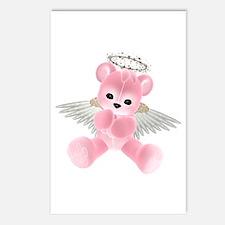 PINK ANGEL BEAR 2 Postcards (Package of 8)