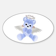 BLUE ANGEL BEAR 2 Oval Decal