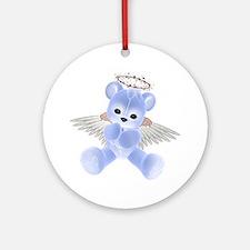 BLUE ANGEL BEAR 2 Ornament (Round)