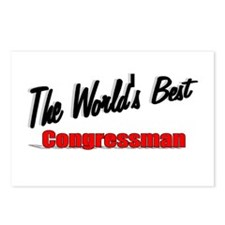 """The World's Best Congressman"" Postcards (Package"