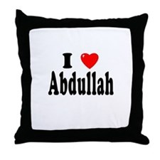 ABDULLAH Throw Pillow