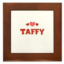 Taffy Framed Tile
