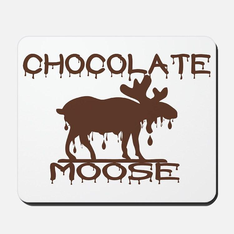 Chocolate Moose Mousepad