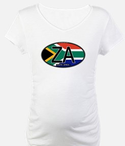 South Africa Colors Oval Shirt