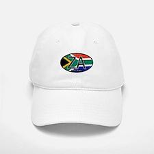 South Africa Colors Oval Baseball Baseball Cap