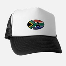 South Africa Colors Oval Trucker Hat