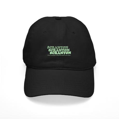 Scranton Retro Black Cap