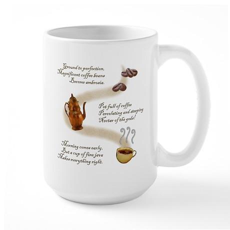 Coffee Haiku Large Mug