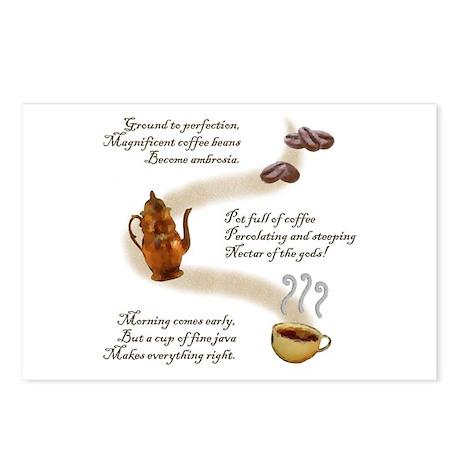 Coffee Haiku Postcards (Package of 8)