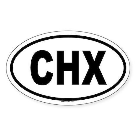 CHX Oval Sticker