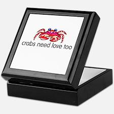 crabs need love too Keepsake Box