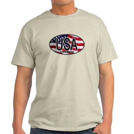 USA Colors Oval 2 Light T-Shirt