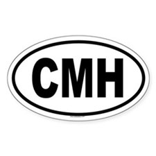 CMH Oval Decal