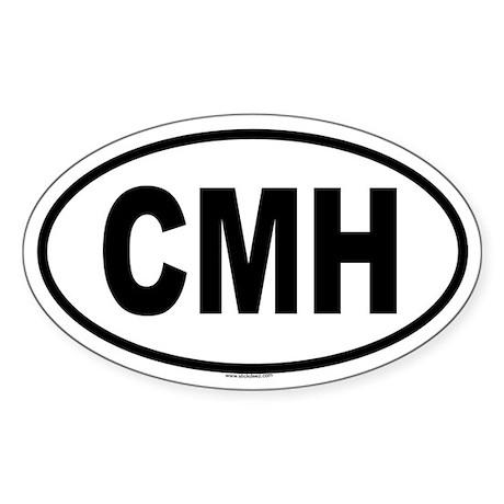 CMH Oval Sticker