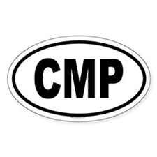 CMP Oval Decal