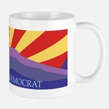 Arizona Democrat Sunburst Mug