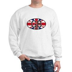 Great Britain Colors Oval Sweatshirt