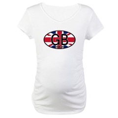 Great Britain Colors Oval Shirt