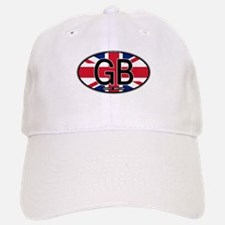 Great Britain Colors Oval Baseball Baseball Cap