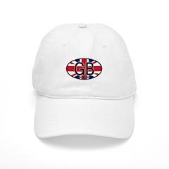 Great Britain Colors Oval Baseball Cap