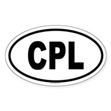CPL Oval Decal