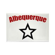 Albuquerque, NM Rectangle Magnet