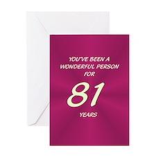 Wonderful Person - Birthday Card - 81