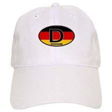 Germany Colors Oval Baseball Cap