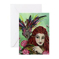 Holliphant and Pallidin Greeting Cards (Pk of 20)