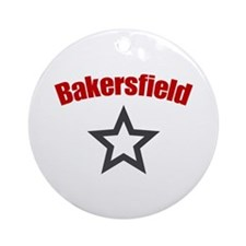 Bakersfield, CA Ornament (Round)
