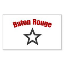 Baton Rouge, LA Rectangle Decal