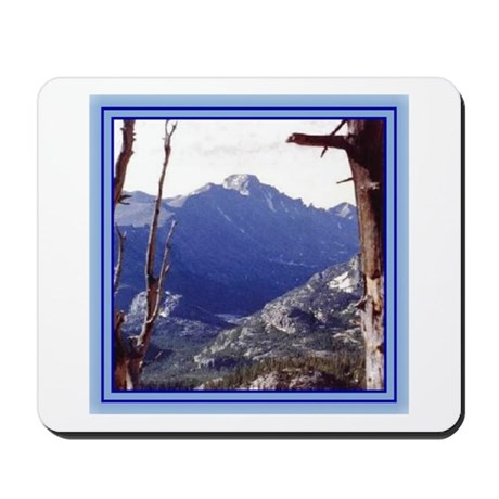 Long's Peak Colorado Mousepad