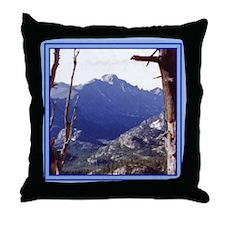 Long's Peak Colorado Throw Pillow