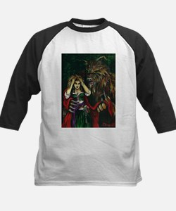Werewolf and Red Tee