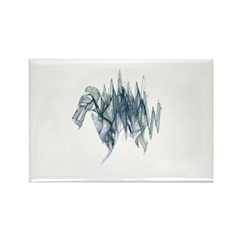 Dragon Rectangle Magnet (100 pack)