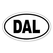 DAL Oval Decal
