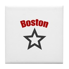 Boston, Mass Tile Coaster