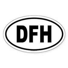 DFH Oval Decal