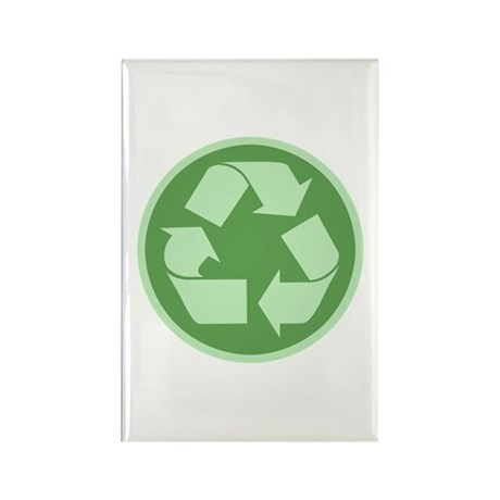 Recycle -Cl Rectangle Magnet (100 pack)