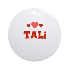 Tali Ornament (Round)