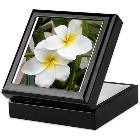 Plumeria Keepsake Box